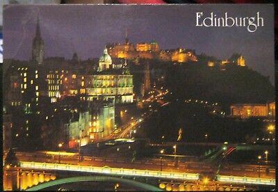 Scotland Edinburgh Skyline - posted 1998
