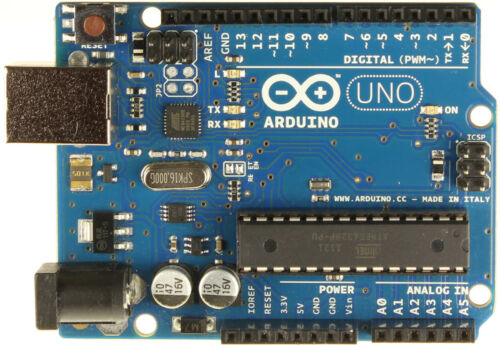 Genuine Arduino UNO R3 - 8 bit Atmega328p Microcontroller Dev Board - Rev 3
