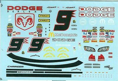 FANTSY BUILD DECAL #9 DODGE 1/24