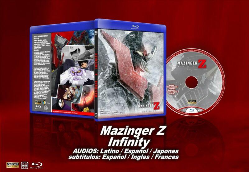 MAZINGER INFINITY Blu-ray Espanol, latino, españa y japones SUBT ESPAÑOL INGLES