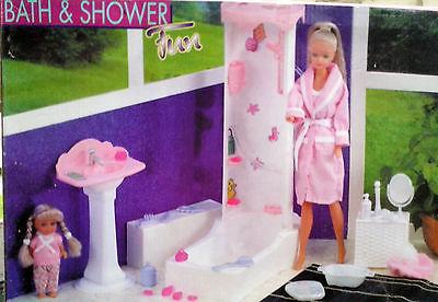 STEFFI Love mit Badezimmer und kleiner Schwester  , NEU,OVP