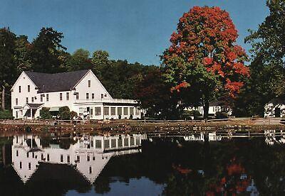 Vintage Postcard Stonehenge Inn and Restaurant Ridgefield Fairfield Connecticut