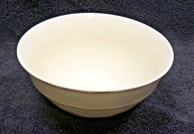 - Pier1 Martillo Creme Brulee Deep Cereal Bowls x1 All Cream Embossed Edge