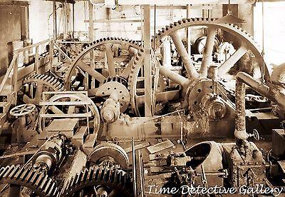 Powered Marine (Gears of Steam-Powered Marine Railway, New London, CT - Steampunk Interest Photo)