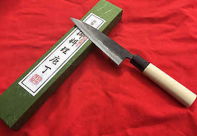 Japanese Super Blue Steel Petty Knife 135Mm By Tomita
