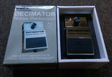 ISP Decimator Noise Reduction Pedal Like new in Box