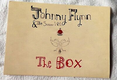 Johnny Flynn and the Sussex Wit The Box Promotional Postcard 15cm x 10.5cm