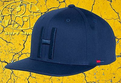 New Herschel Supply Co. Toby Navy 3D embroidered Navy Snapback Cap Hat