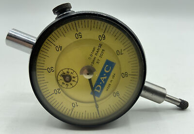 Dac St2026 Precision 0-10mm Range Dial Indicator With Vertical Lug - Accuracy