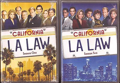 L A Law Season 1 & 2 - DVD TV Shows First Second BRAND NEW