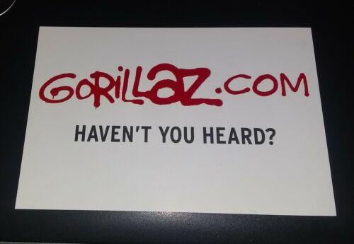 Gorillaz Postcard - Gorillaz.com HAVEN