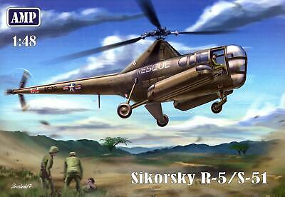 AMP Models 1/48 SIKORSKY R-5 / S-51 U.S. Army Helicopter for sale  Shipping to India
