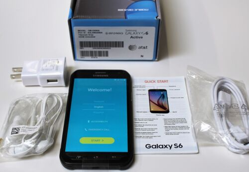 Samsung Galaxy S6 Active 4G with 32GB Memory Cell Phone Gray (AT&T) 6787A