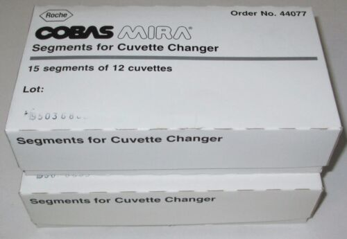 30 New Segments of 12 Cuvettes for Cuvette Changer Roche Cobas Mira 44077