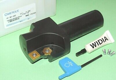 New Metcut 1-78-12 Indexable Port Contour Cutter W Inserts 267-5187