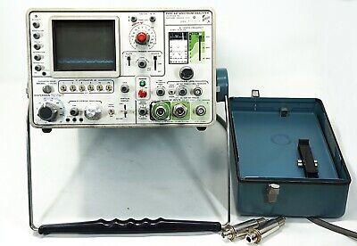 Tektronix Tek 491 Spectrum Analyzer 10 Mhz To 40 Ghz With Waveguides Tested