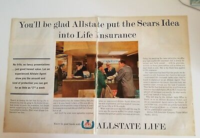1962 Youll Be Glad Allstate Put Sears Idea Into Life Insurance Ad