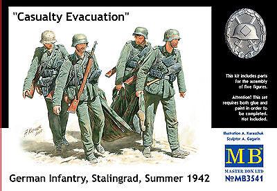 "MASTER BOX™ 3541 ""Casualty Evacuation"" Germany Infantry Stalingrad 1942 in 1:35"