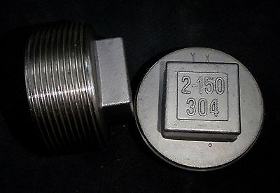 Stainless Steel Plug 2 Npt Pipe Pp-200