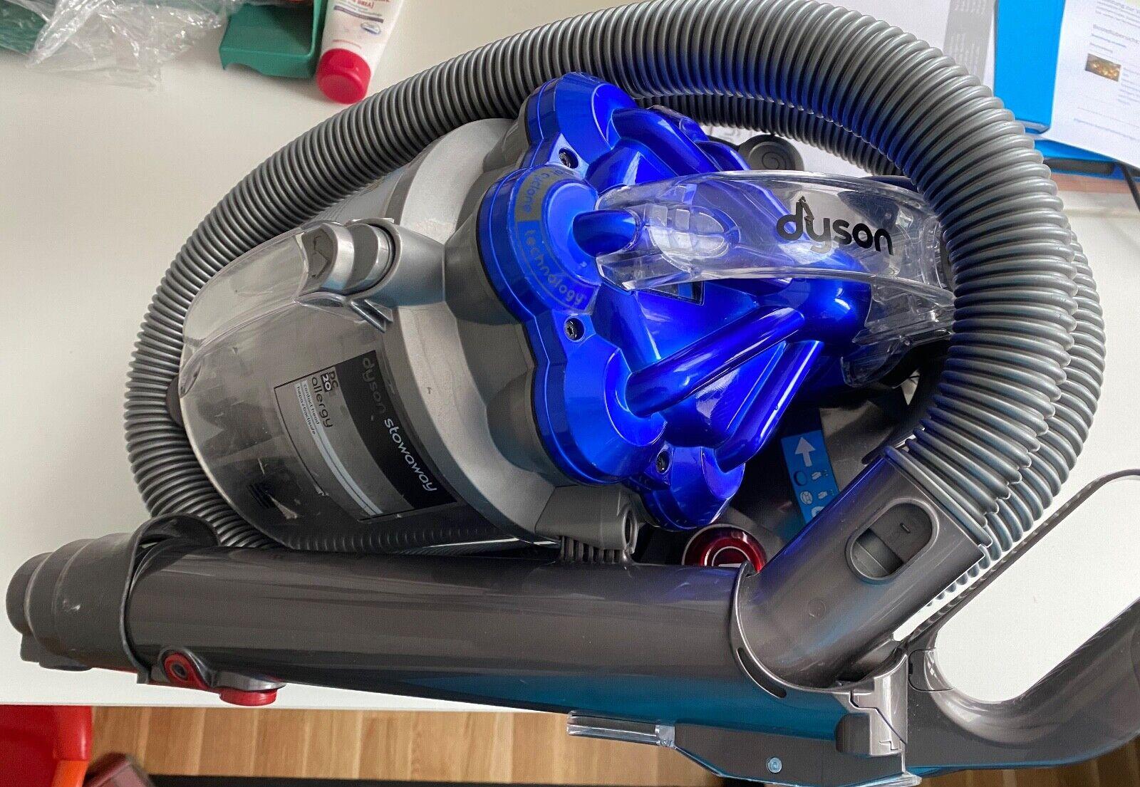 Dyson DC20 1400 W Beutelloser Bodenstaubsauger - Silber/blau