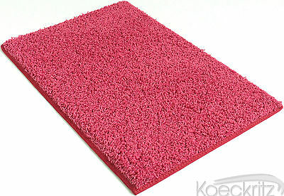 Couture Pink Indoor 37 oz Custom Cut Kids Frieze Area Rug Carpet