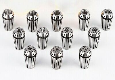 High Precision Metric Er20 Collet Set 15pcs 2-13mm Er20 Collets Promotion Sell