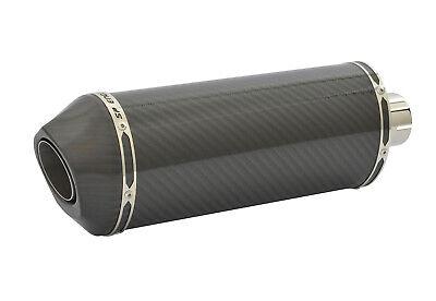 Honda CBR500R Exhaust 16-17 SP Diabolus Carbon Fibre Oval XLS Carbon Outlet