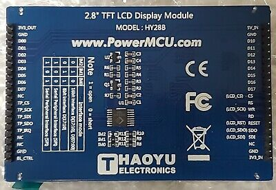 Hy28b 2.8 Tft Lcd Display Module - Mchf Sdr