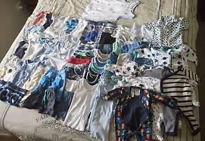 75 Baby Boy clothing items - incl. Sleep sack. Eagleby Logan Area Preview