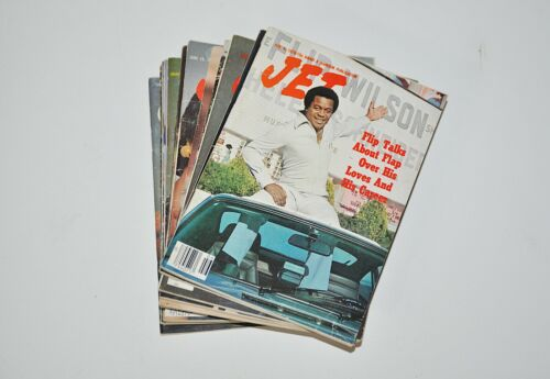 Vintage JET Magazines Lot of 16 1970