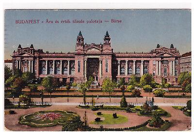 Budapest - Börse - Áru és érték tözsde palotaja - Versandort: Gera (Reuß)