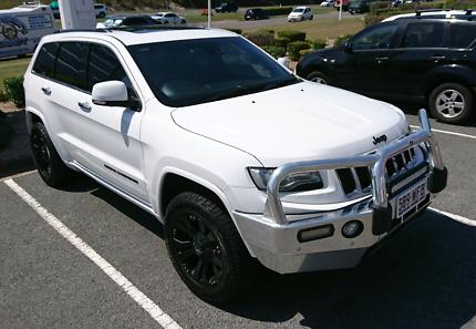 Jeep Grand Cherokee Overland Diesel my14 bright white