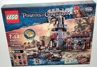 LEGO Pirates of the Caribbean Set 4194 Whitecap Bay Mermaid Island NEW & Sealed