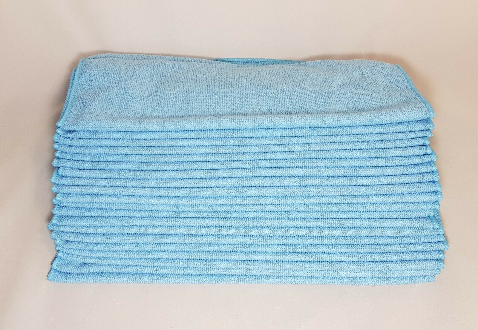 Mikrofasertücher 20 Stk. 40x40 cm blau Mikrofasertuch Microfasertücher