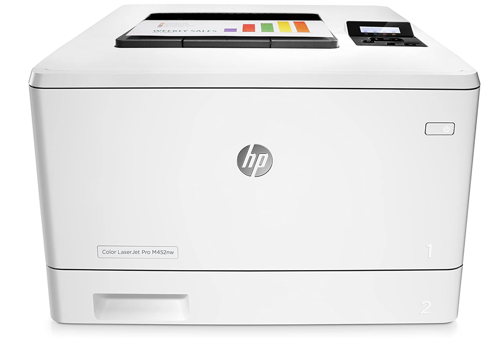 HP Laserjet Pro M452nw Wireless Color Laser Printer with Bui