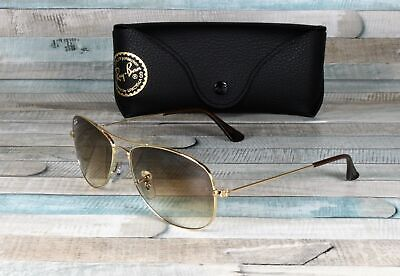 RAY BAN RB3362 001 51 Arista Crystal Brown Gradient 56 mm Men's Sunglasses Crystal Brown Gradient Sunglasses