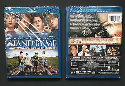 Stand By Me   Blu Ray  2011    Brand New   Sealed 25Th Edition River Phoenix