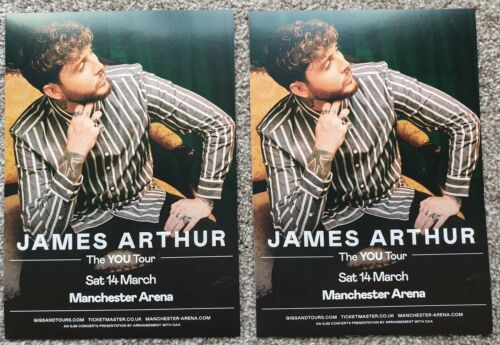 2 Flyers - James Arthur - The YOU Tour - 14th March 2020 - Manchester Arena
