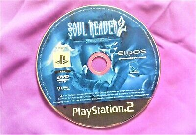 PS2 Soul Reaver 2 The Legacy of Kain Series Sony PlayStation 2 – disc only