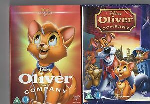 Oliver And Company - Disney Classic Number 27  DVD With Limited Edition Sleeve