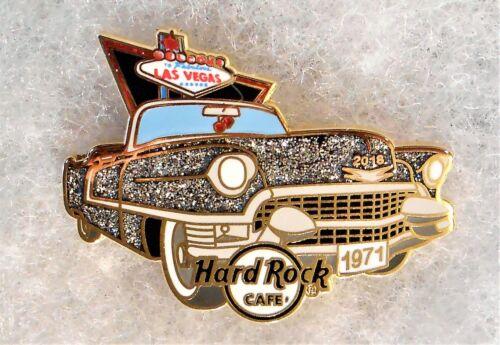 HARD ROCK CAFE LAS VEGAS SPARKLING CLASSIC CONVERTIBLE CAR PIN
