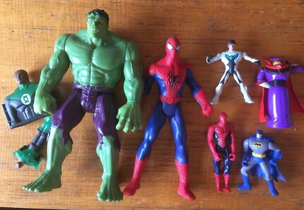 Bulk Boys Toys - Spiderman/Batman/Hulk