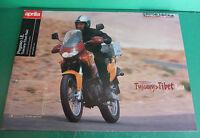 Aprilia Moto Pegaso 650 Tibet Raid Brochure Folder Catalogo Catologue Katalog -  - ebay.it