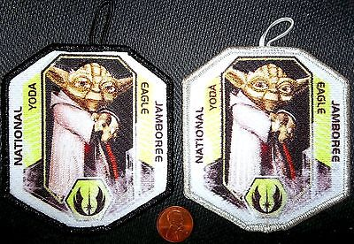STAR WARS MARIN COUNCIL 2013 JAMBOREE 533 2017 YODA EAGLE & SCOUTMASTER PATCHES