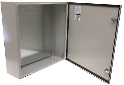 Type Backplate - YC-24X24X8-UL Nema Type 4 Enclosure with Gland Plate, Back Plate 24