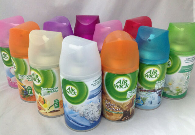 4 x AIR WICK FRESHMATIC REFILLS PICK YOUR FRAGRANCE MOST POPULAR BEST SCENTS