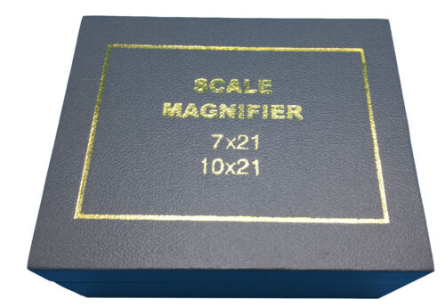 iGaging 36-1009 Scale Loupe Measuring Magnifier Comparator 10X with 9 Reticles