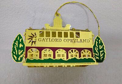 Gaylord Opryland Hotel Brass Christmas Ornament  ()