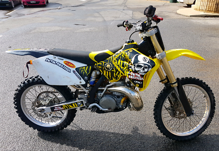 Suzuki Rm250 2005 (Thousands spent)