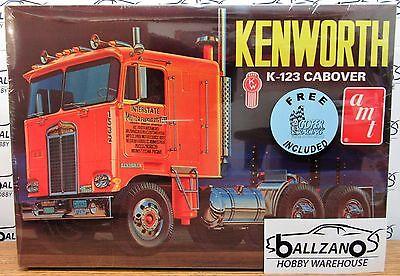 AMT 687 Kenworth K-123 Cabover Truck Plastic Model Kit w/ gofer decals 1/25